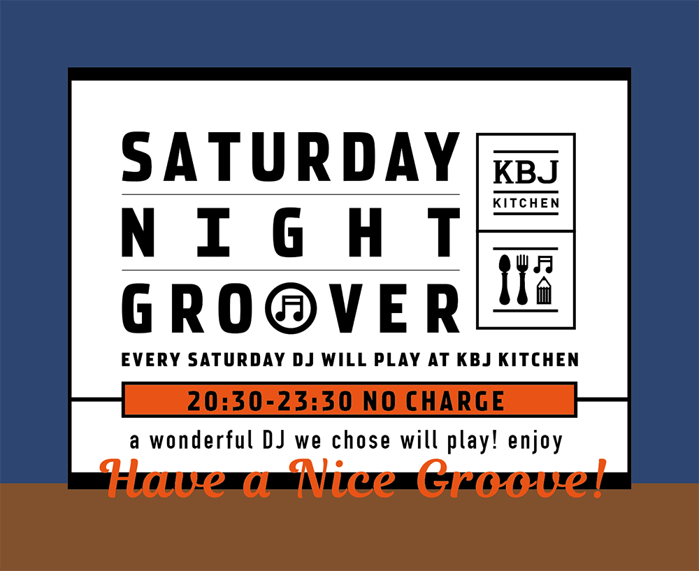 SATURDAY NIGHT GROOVER